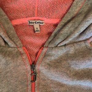Juicy Couture zipped hoodie